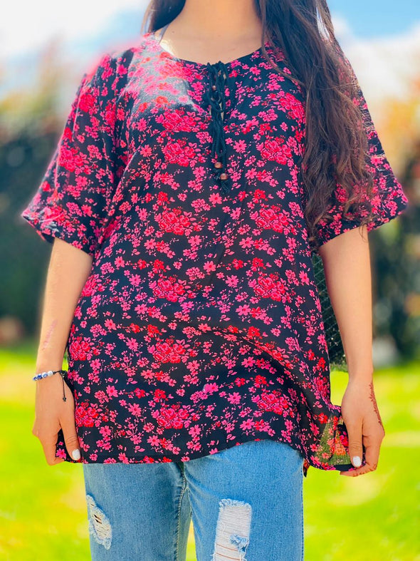 Blusa Melly Oriental #83 PPM29 - BOUTIQUE DE LA INDIA