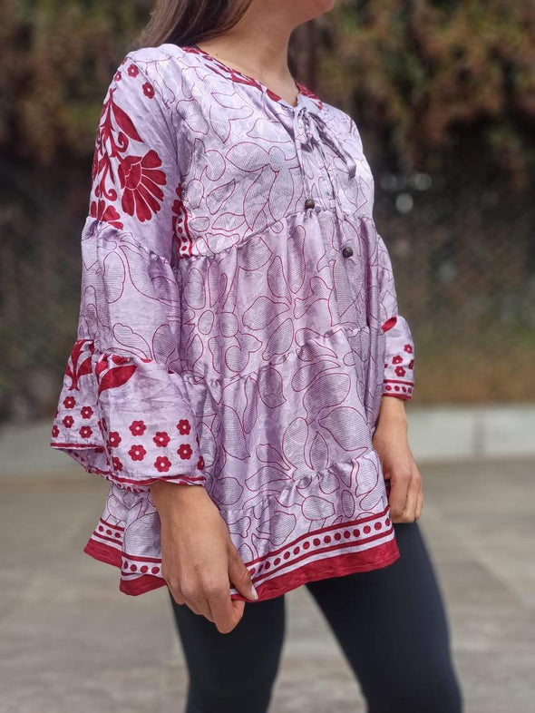Blusa Shelly Oriental #291 PPM49 - BOUTIQUE DE LA INDIA