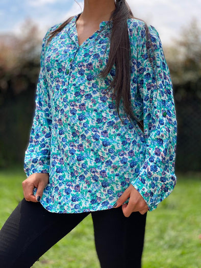 Blusa Felhy Oriental #26 PPM29 - BOUTIQUE DE LA INDIA