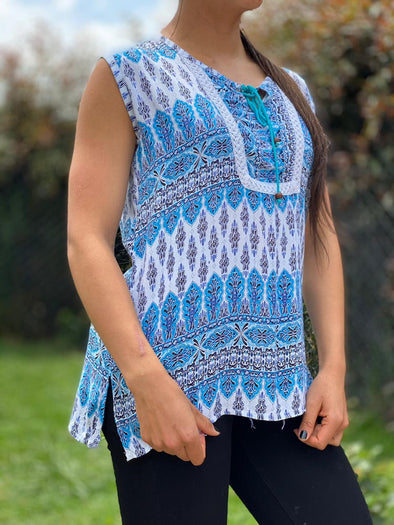 Blusa Ananda Oriental #336 PPM29 - BOUTIQUE DE LA INDIA