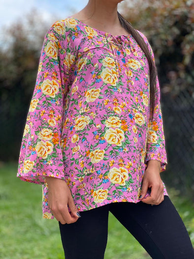 Blusa Linhi Oriental #24 PPM29 - BOUTIQUE DE LA INDIA