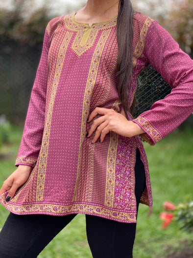 Blusa Delia Oriental #82 PPM49 - BOUTIQUE DE LA INDIA