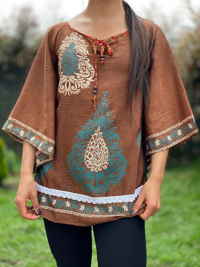 Blusa Shelly Arabe #347 PPM49 - BOUTIQUE DE LA INDIA