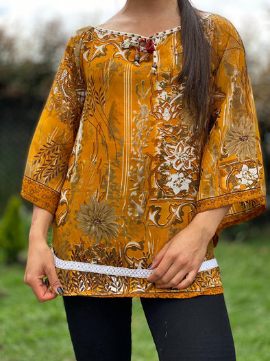 Blusa Shelly Arabe #348 PPM49 - BOUTIQUE DE LA INDIA
