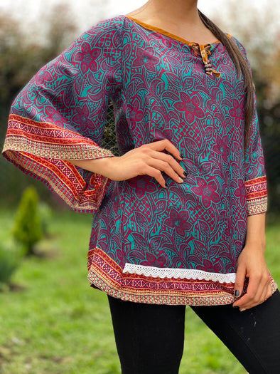 Blusa Shelly Arabe #350 PPM49 - BOUTIQUE DE LA INDIA