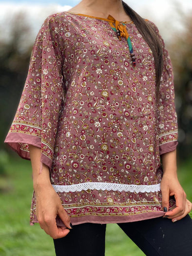 Blusa Shelly Arabe #355 PPM49 - BOUTIQUE DE LA INDIA