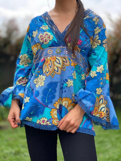 Blusa Elly Oriental PPM29 - BOUTIQUE DE LA INDIA