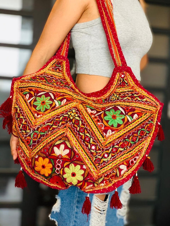 Bolso Margarita hindú PPM69 - BOUTIQUE DE LA INDIA