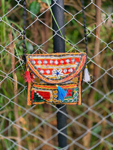 Cartera Patches  Hindú (#5)  PPM15 - BOUTIQUE DE LA INDIA
