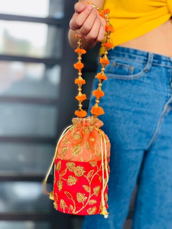 Cartera Potly Duocolor oriental (#29) PPM19 - BOUTIQUE DE LA INDIA