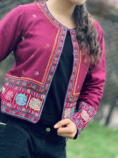 Chaqueta Bordada Amara hindú PPM99 - BOUTIQUE DE LA INDIA
