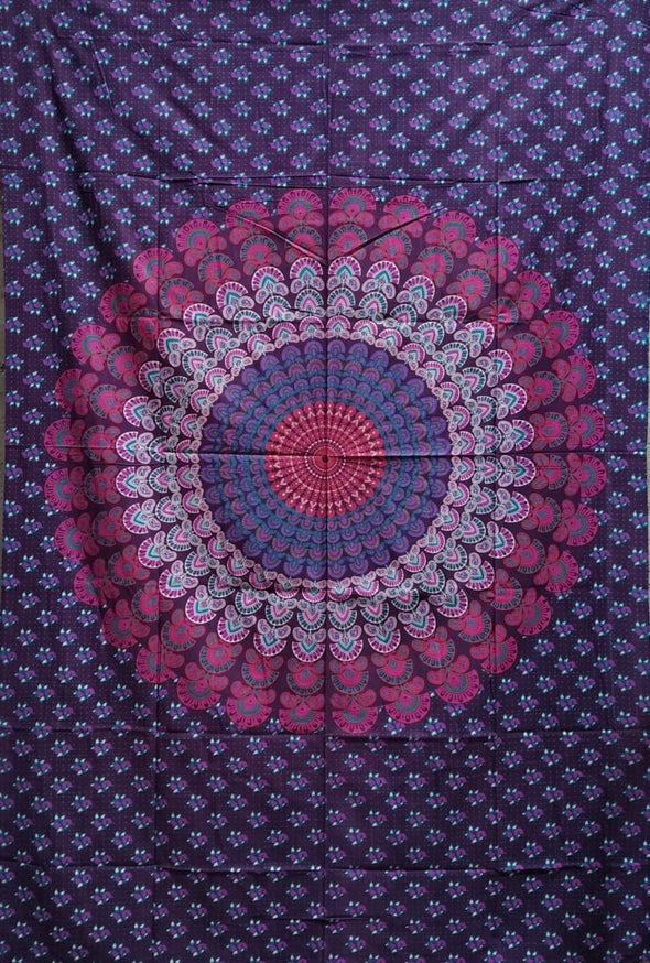 Tela Mandala Multiusos hindú 1,40 x 2,10 (#12) PPM45 - BOUTIQUE DE LA INDIA