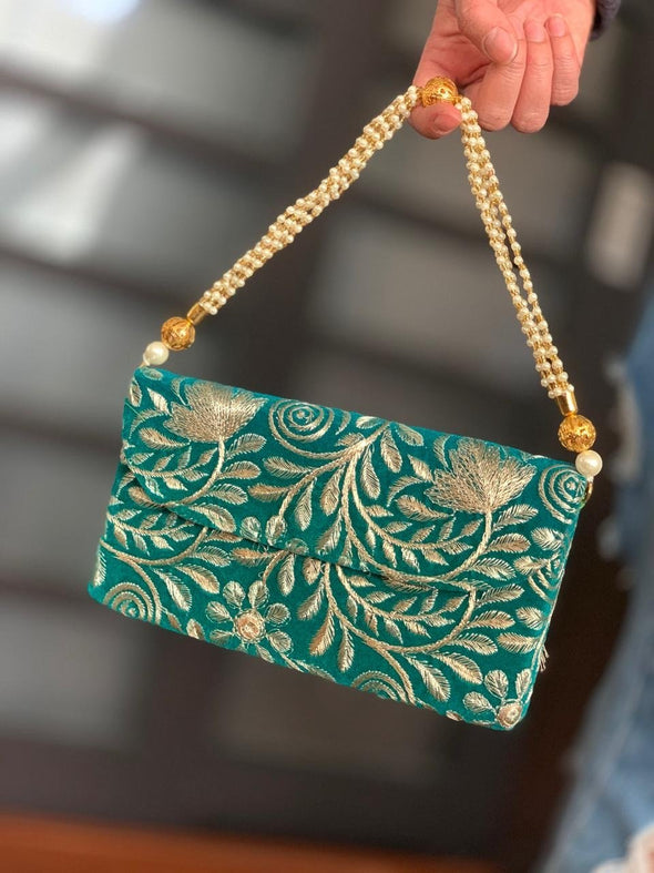 Cartera de Mano Hindú (#1)  PPM25 - BOUTIQUE DE LA INDIA
