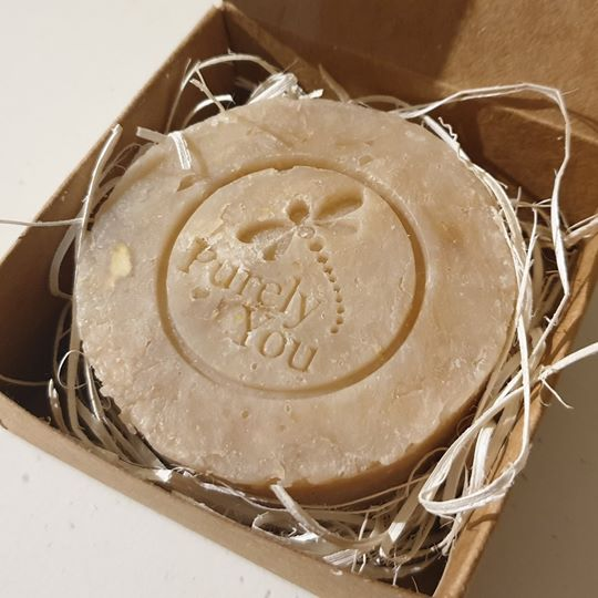 Honey & Vanilla Handcrafted Soap - 100g approx