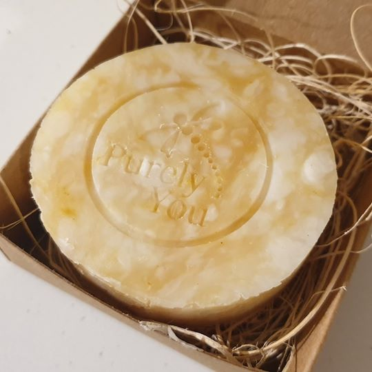 Lemongrass & Ginger Handcrafted Soap - 100g approx.