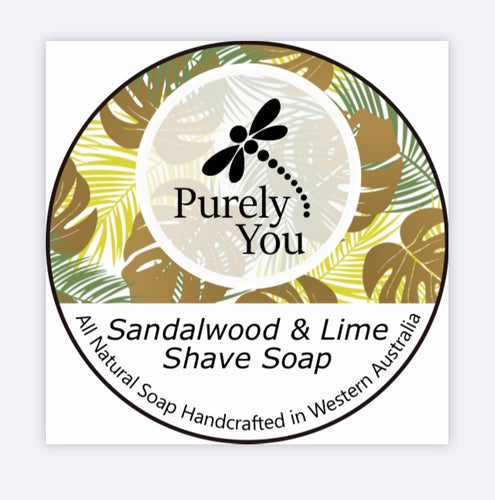 Sandalwood & Lime Shaving Soap