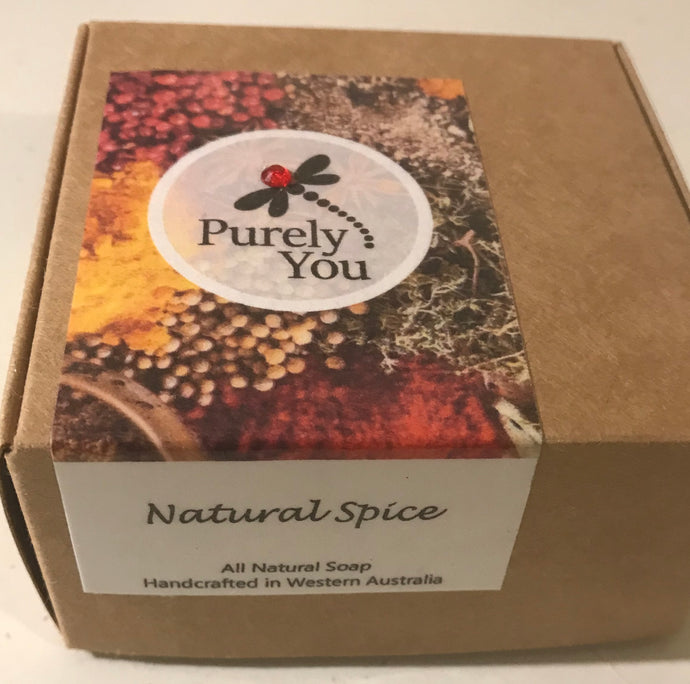 Natural Spiced Soap