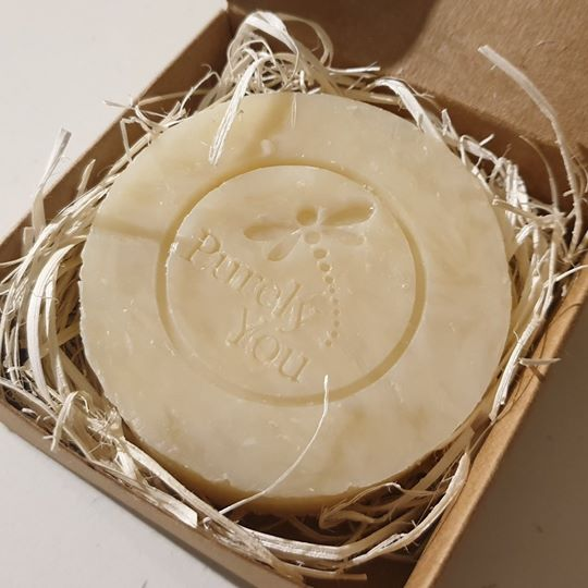 Rose Geranium Handcrafted Soap - 100g approx.