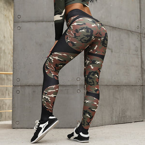 High Waisted Heartbeat Fitness Leggings