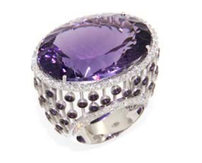 """ Boucheron Style in Purple """