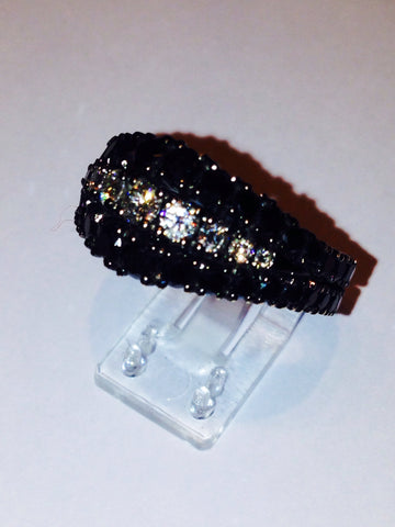 Black Diamonds Ring