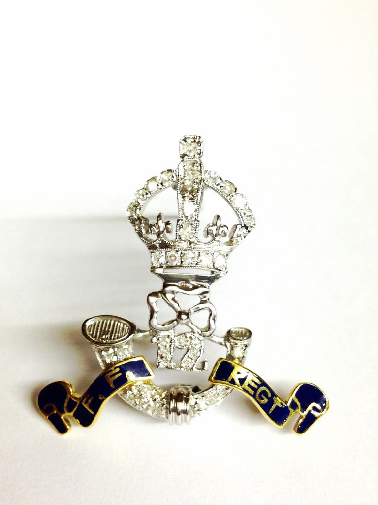 "Ancient Brooch "" F.F Regt """