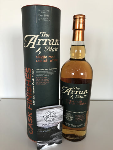 Arran Cask Finishes