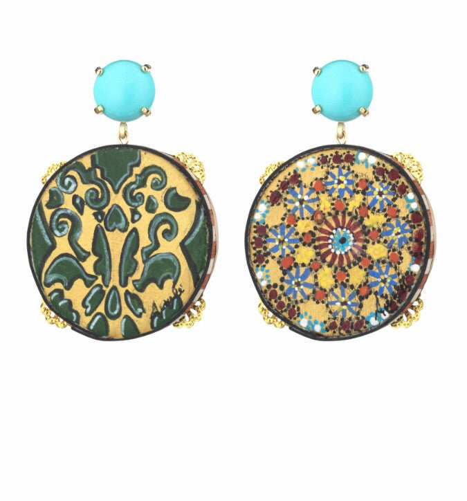 Amle' Earrings - Mosaici -