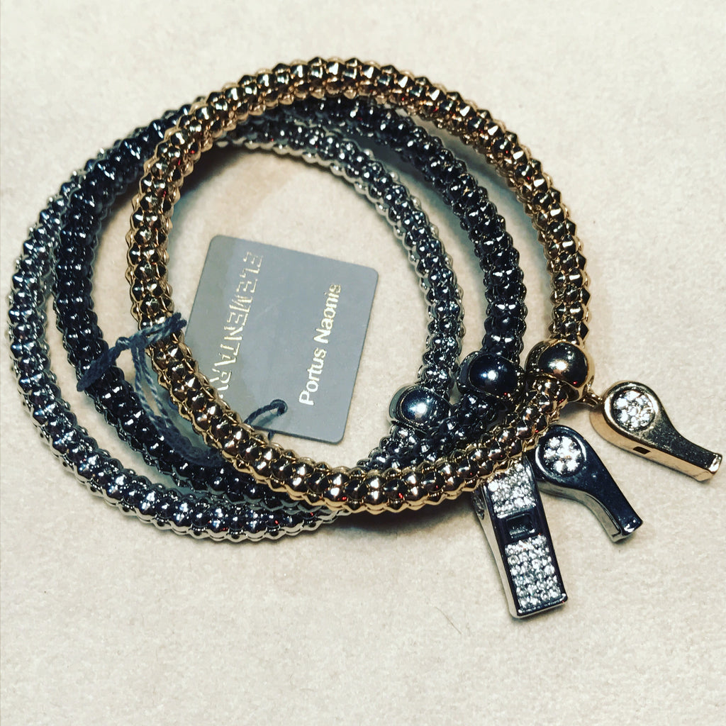 Bracelet with Whistles