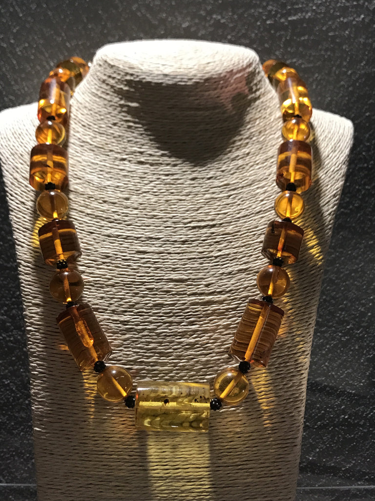 Shperic and Rectangular shape of Amber