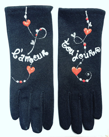 "Gloves French Style : "" L' Amour Toujours """