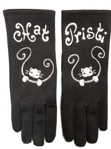 "Gloves French Style : "" Cats """