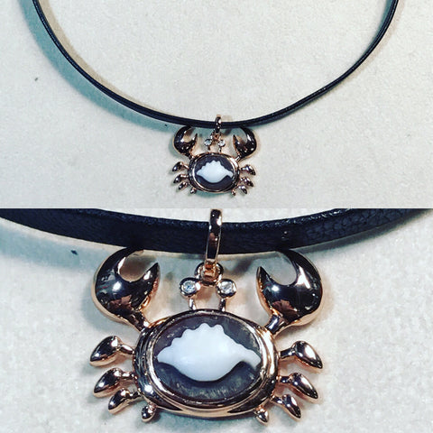 Chocker with Skorpion and Cameo