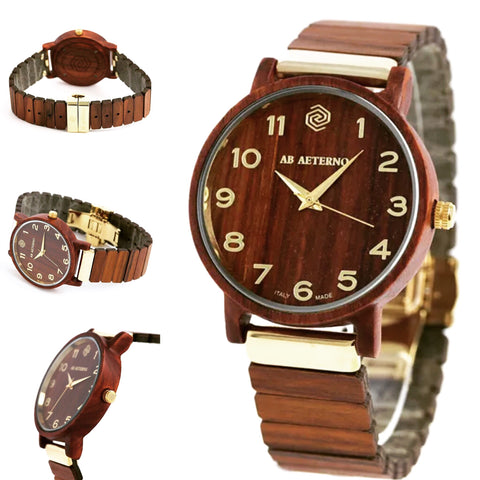 AB Aeterno Fenix Limited Edition 40 mm BURGUNDY SANDALWOOD