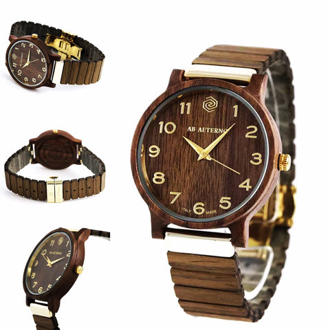 Ab Aeterno Fenix Limited Edition 40 mm Brown WALNUT
