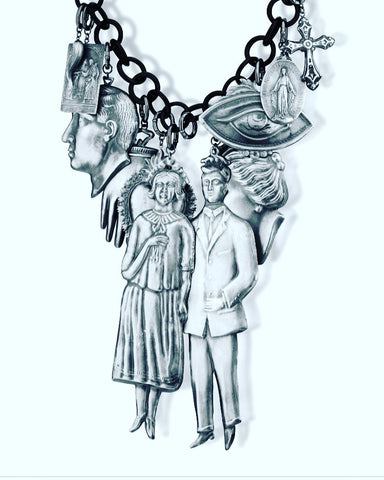 Amle' Necklace - Couple and Marriage -