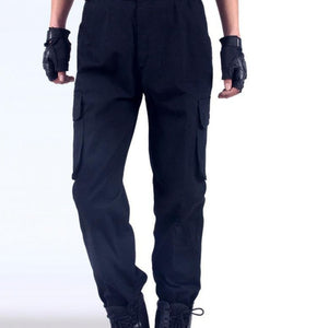 Work Pants Men's Auto Repair Labor Insurance Welding Factory Work Clothes Trousers Cotton Safety Clothing Pants Wear DYF002