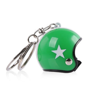 1 Pc Motorcycle Bicycle Helmet Key Chain Ring Keychain Keyring Key Fob Women Mens Gift Toy