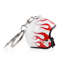 Load image into Gallery viewer, 1 Pc Motorcycle Bicycle Helmet Key Chain Ring Keychain Keyring Key Fob Women Mens Gift Toy