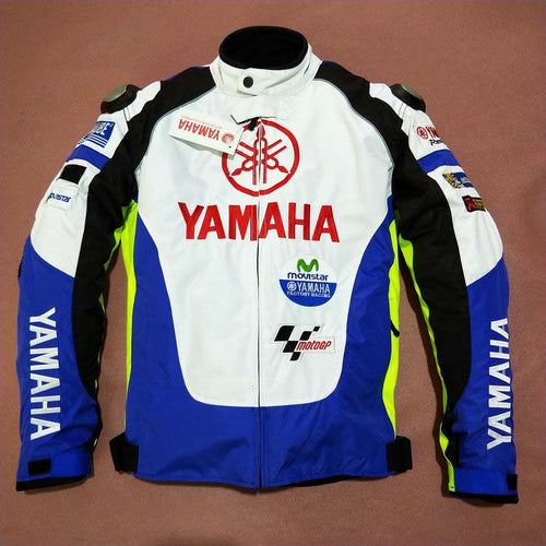 2019 Winter Moto GP Motorcycle Riding Protective Jacket For Yamaha M1 Moviestar Off-Road Coat with Protector Detachable Liner