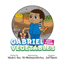 Load image into Gallery viewer, Gabriel Eat Your Vegetables