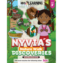 Load image into Gallery viewer, Nyvia's Nature Walk Discoveries Workbook