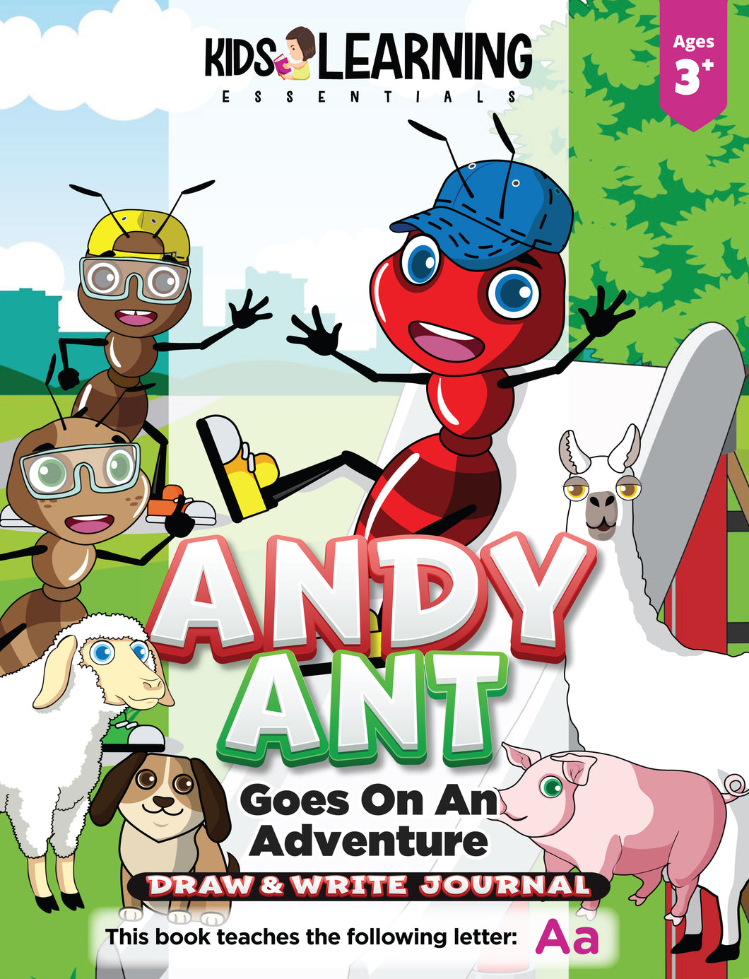 Andy Ant Goes On An Adventure Draw & Write Journal