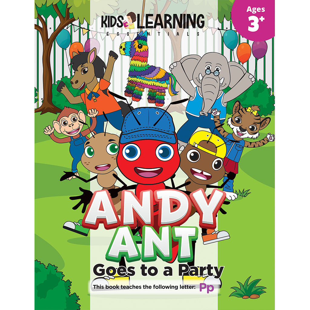 Andy Ant Goes To A Party Story + Workbook