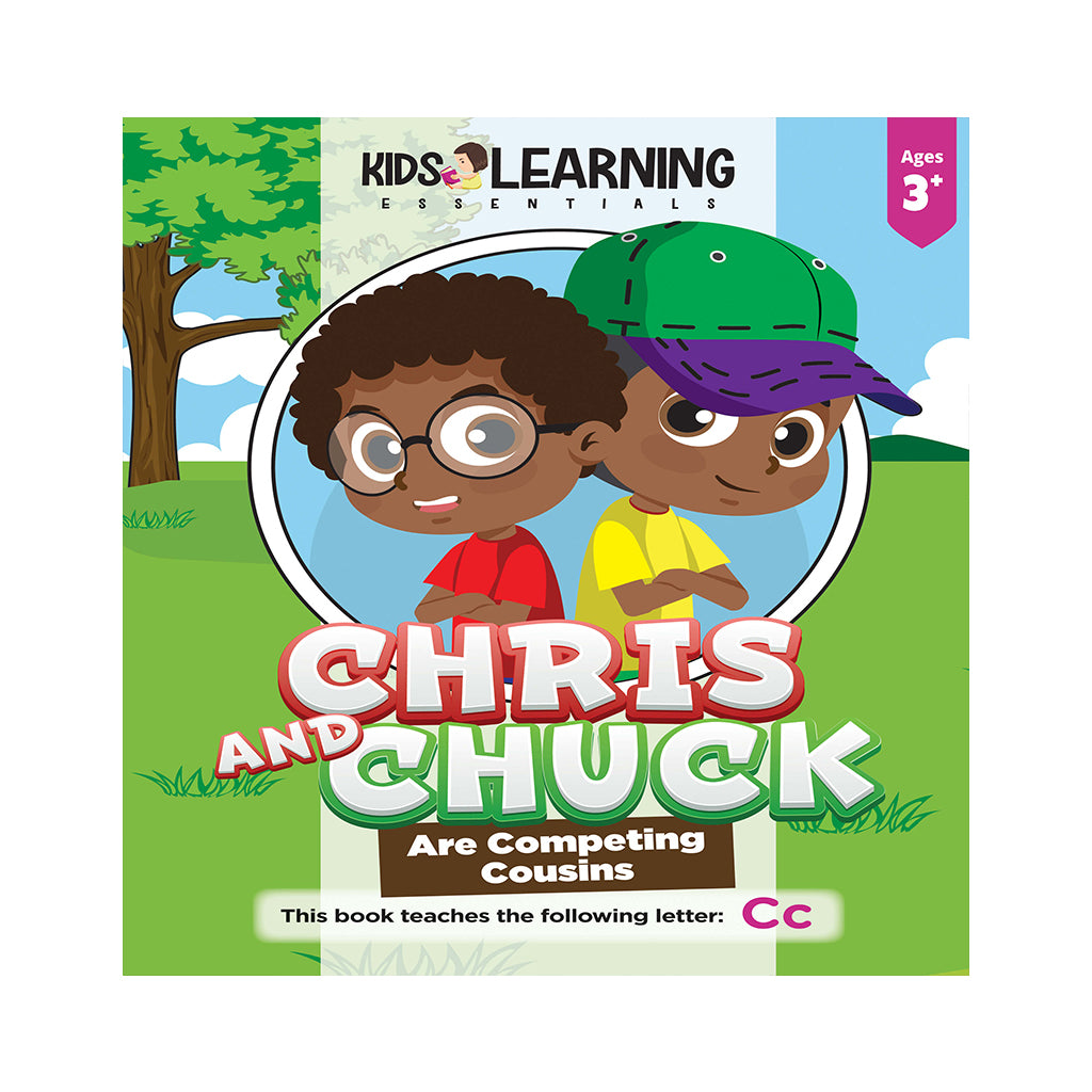 Chris And Chuck Are Competing Cousins Hardcover