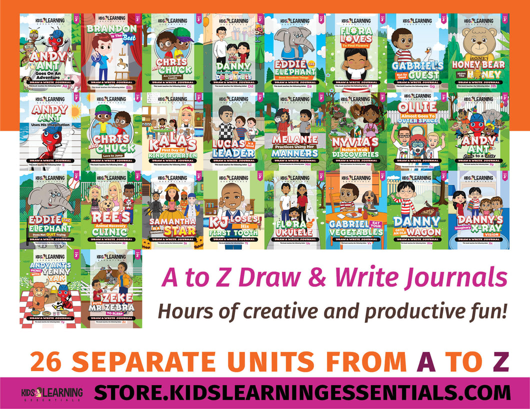 Preschool Curriculum Addon - Draw And Write Journals