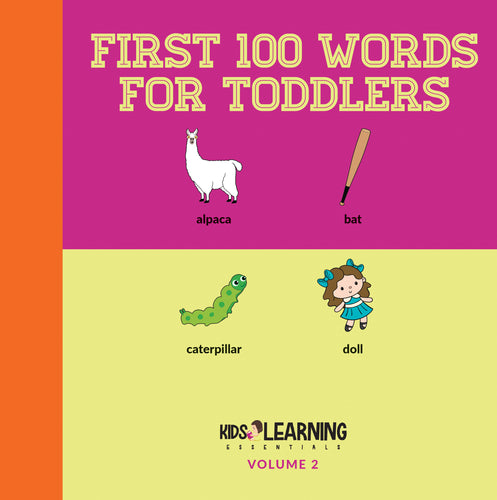 First 100 Words For Toddlers Volume 2