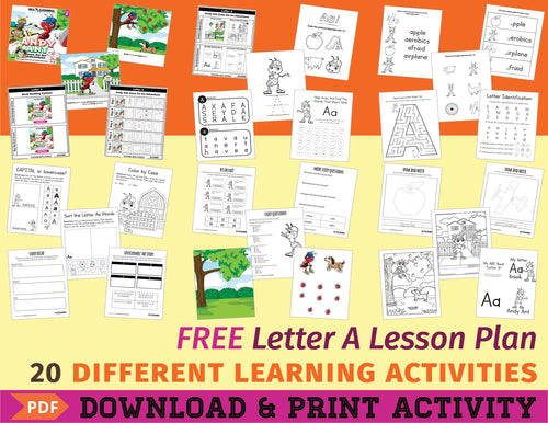 Free Letter A Lesson Plan