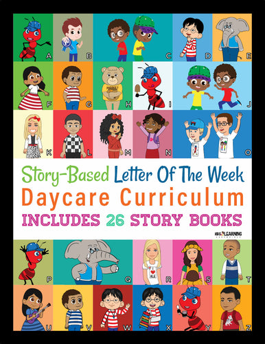 Daycare Curriculum For Toddlers, Preschool & Kindergarten