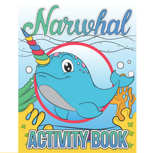 Load image into Gallery viewer, Narwhal Activity Book Volume One